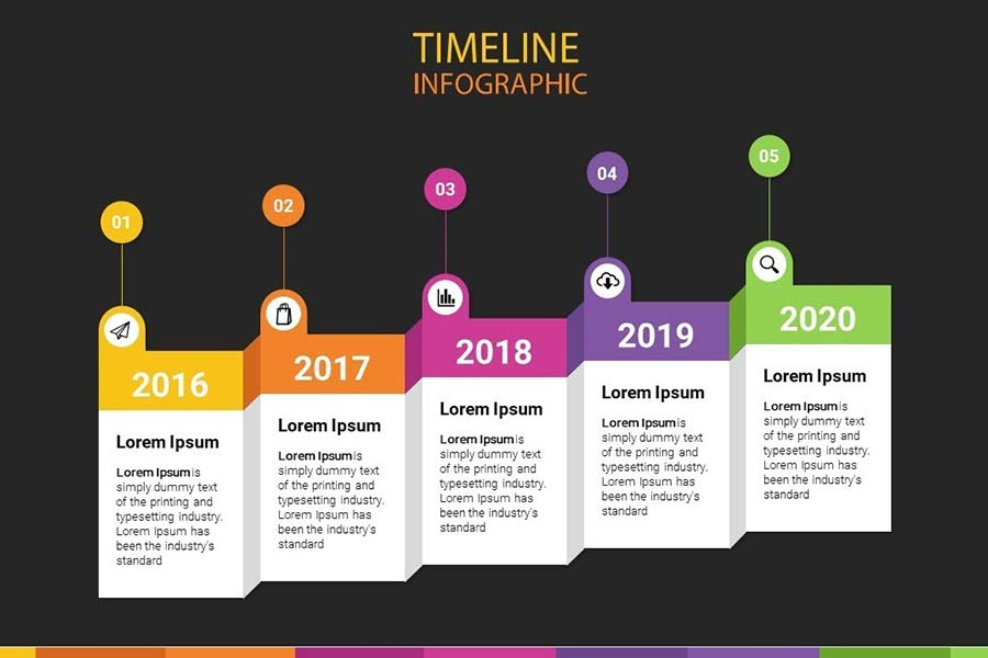 How To Make A Creative Animated Timeline On Powerpoint