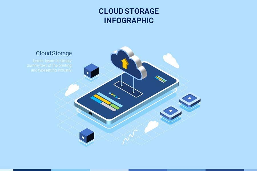 How To Make Animated Cloud Computing Infographic On Powerpoint