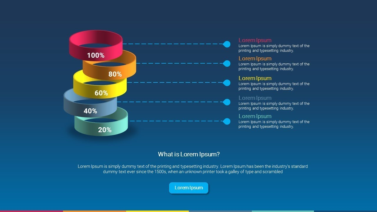 How To Make Infographic 3D Circles in Powerpoint